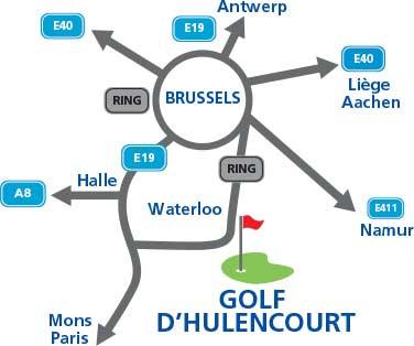Plan Golf Hulencourt